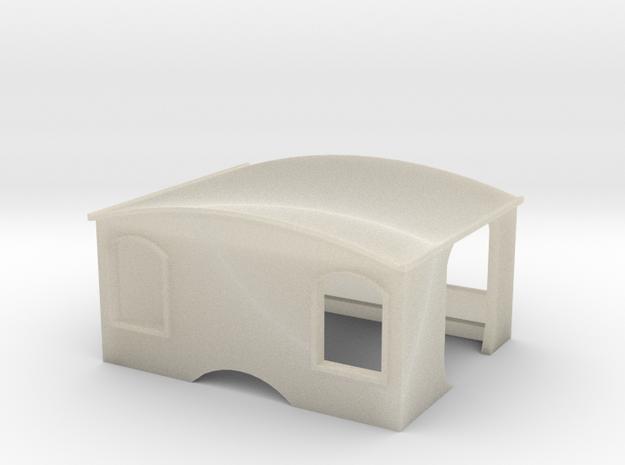 009 Tom Rolt Cab for Meridian Models kit 3d printed