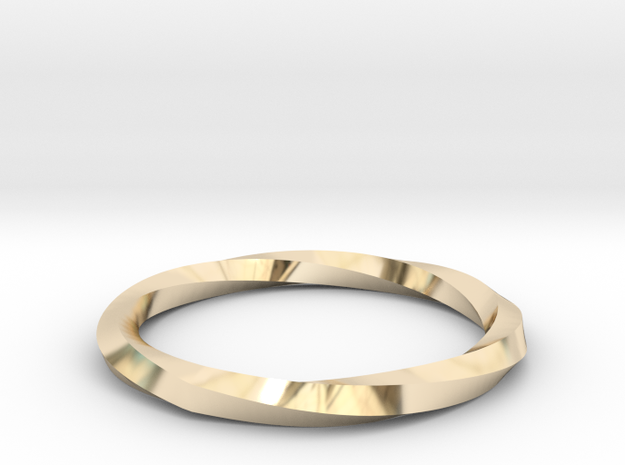 Nurbs Wedding Ring-Size 5.5 in 14K Yellow Gold