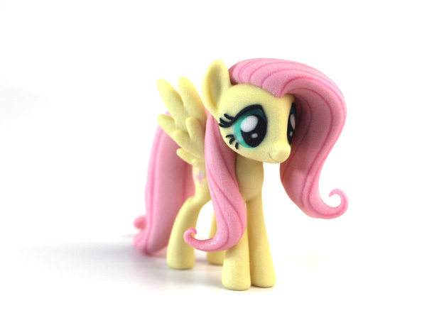 My Little Pony - Fluttershy (≈75mm tall)