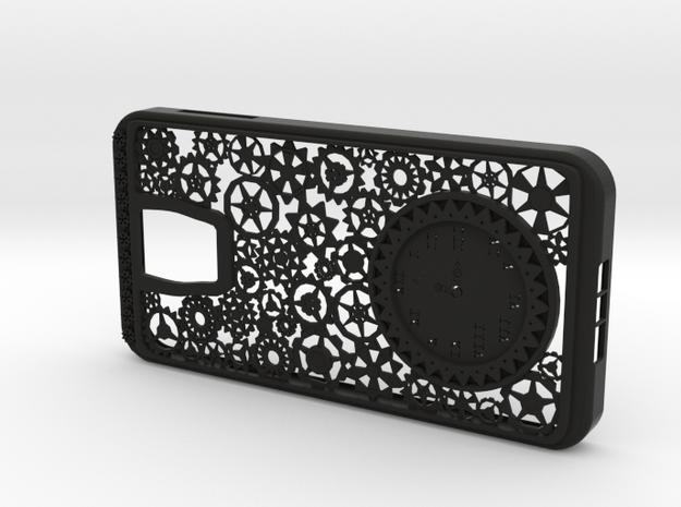 Steampunk Clock Galaxy S5 Case