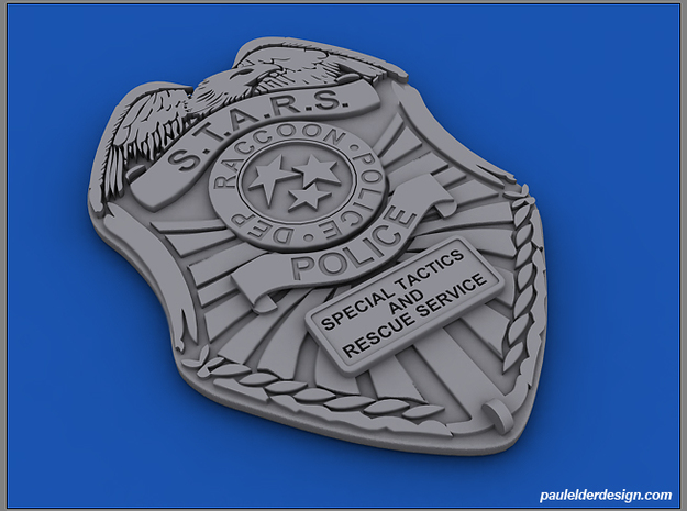 S.T.A.R.S. Badge