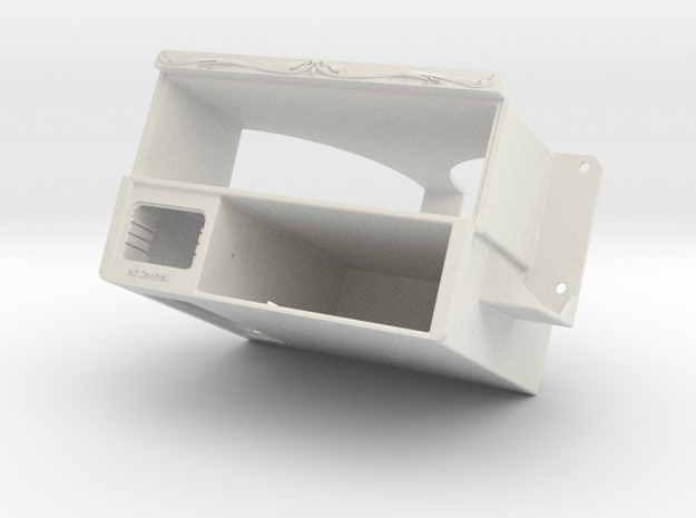Car Radio Holder 3d printed