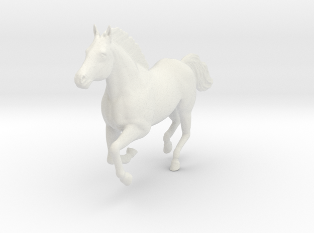 Mustang Horse - Galloping Pose