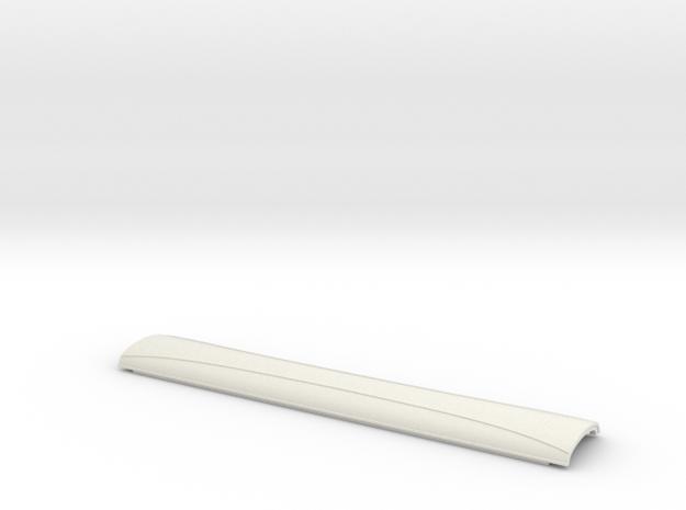 BPR0580 CLC High Elliptical Roof in White Natural Versatile Plastic