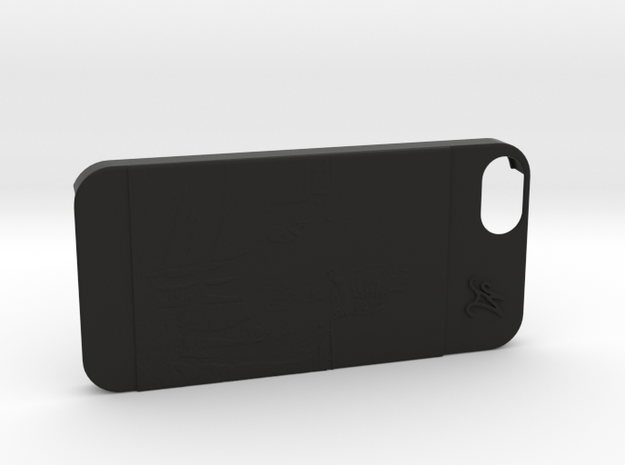 Cover Iphone 5S M&O in Black Strong & Flexible