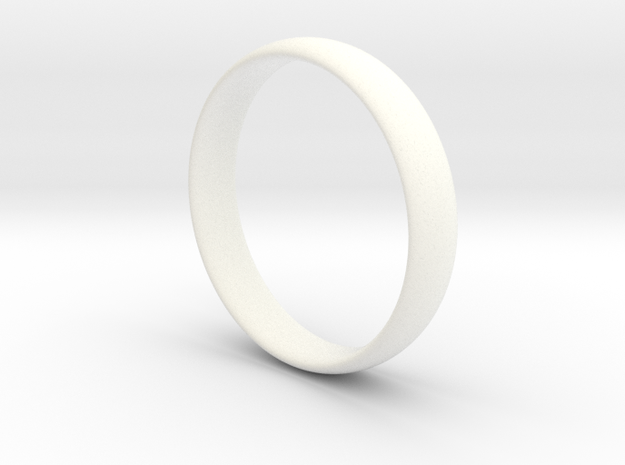 Ring - Basic Band - Comfort Fit - Size 8.5
