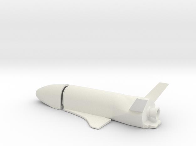 1/144 BOEING X-37C ORBITAL SPACE PLANE in White Strong & Flexible