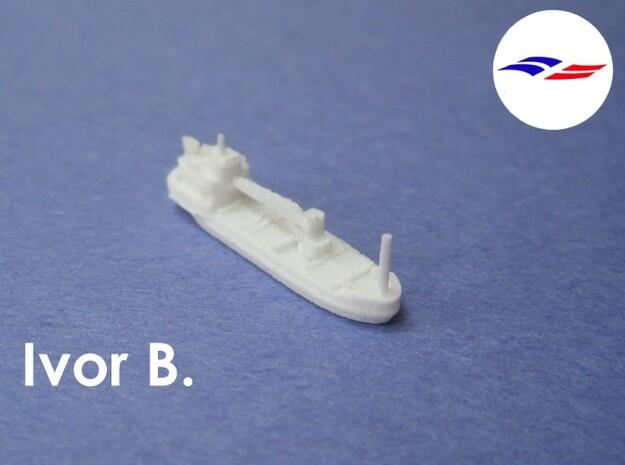 MV Ivor B. (1:1200) 3d printed
