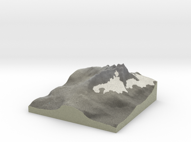 Terrafab generated model Tue Oct 28 2014 00:20:44  in Full Color Sandstone