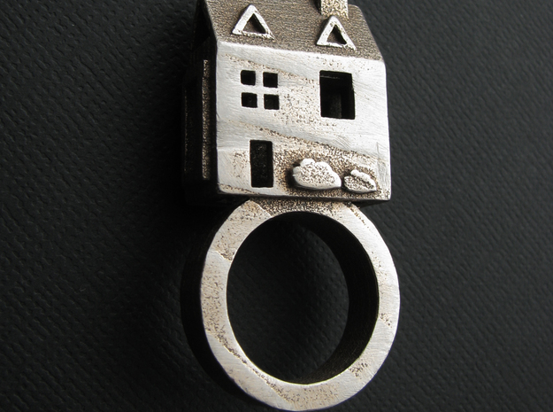 Doll House Ring sz 5.5 3d printed