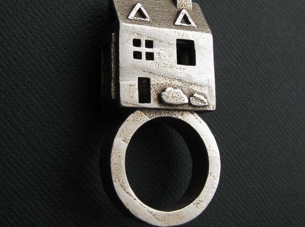 Doll House Ring sz 5.5 3d printed