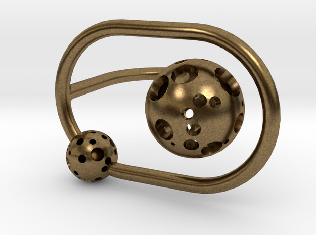 Moonball Orbit Ring 3d printed