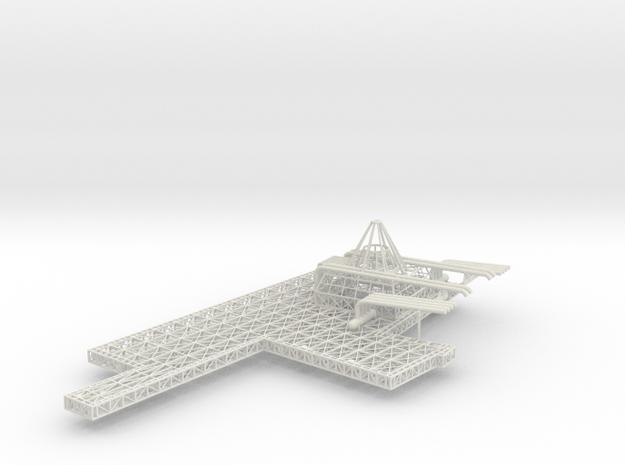Stern Deck Upper Port V0.12 in White Strong & Flexible