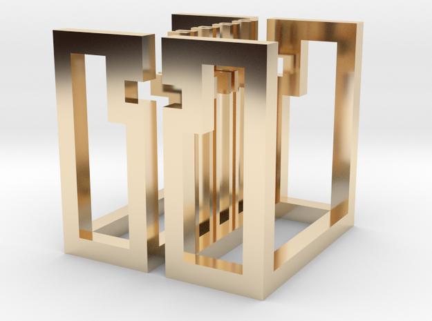 cube_19 3d printed