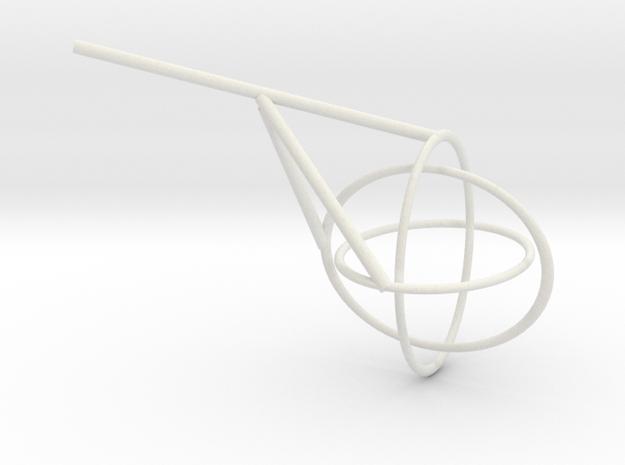 Borromean Rings seifert surface 3d printed