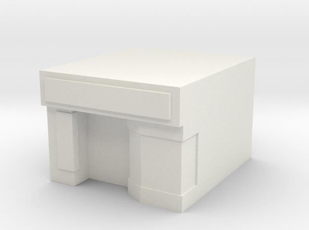 Massage Parlor Custom Board Game Piece  in White Natural Versatile Plastic