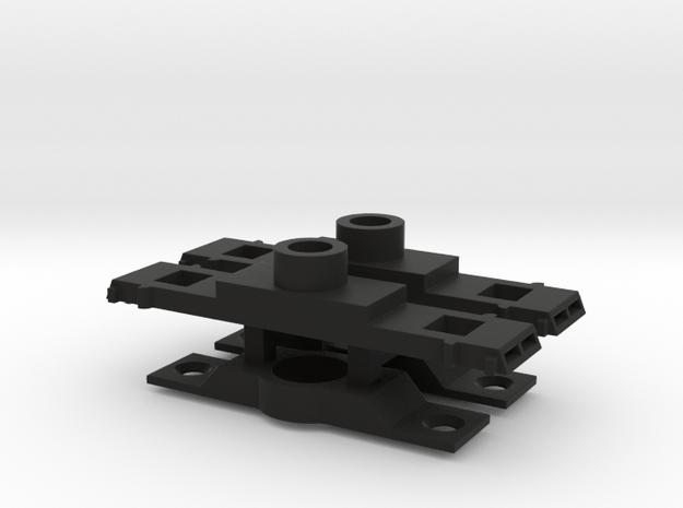 DIR NAtlOP48 Roller Bearing Truck Bolster in Black Natural Versatile Plastic