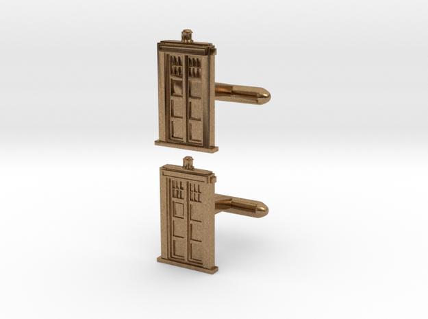 Doctor Who: TARDIS Cufflinks   3d printed