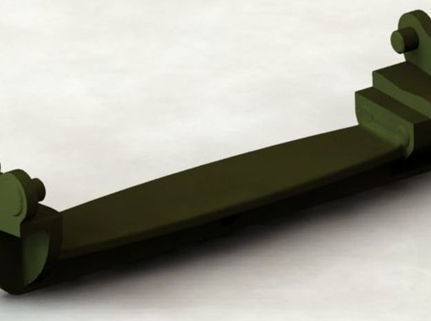 D48082 GROUSER ASSEMBLY 1:32 SCALE in Smooth Fine Detail Plastic