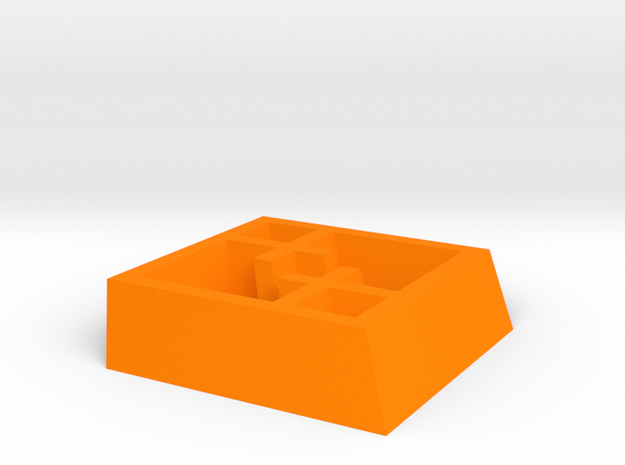 Tilted Mondrian Pendant 3d printed