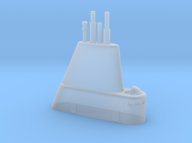 1/700 USS Cubera (SS-347) Submarine Sail in Smooth Fine Detail Plastic