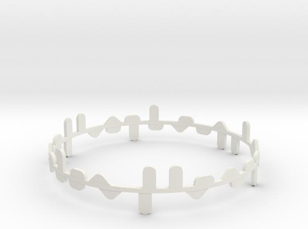 Norma in White Natural Versatile Plastic