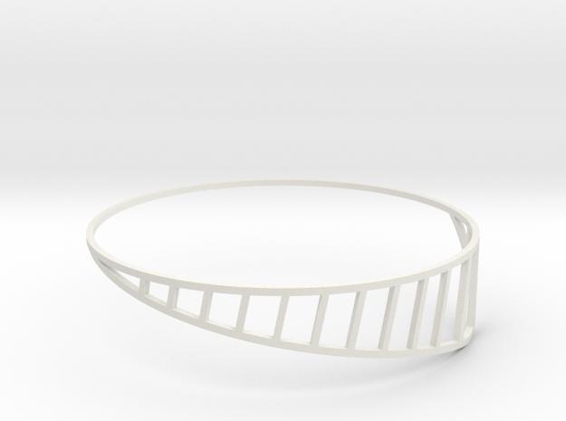 Cage in White Natural Versatile Plastic