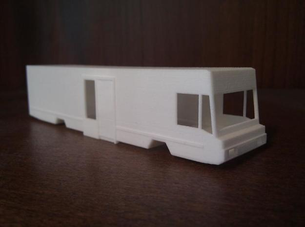 SRV wagen (1:87) (no.1) in White Natural Versatile Plastic