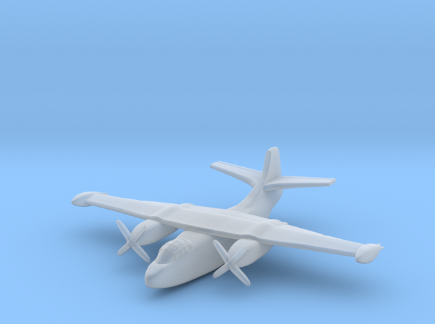 Airplane A/J Savage Test10 in Smooth Fine Detail Plastic