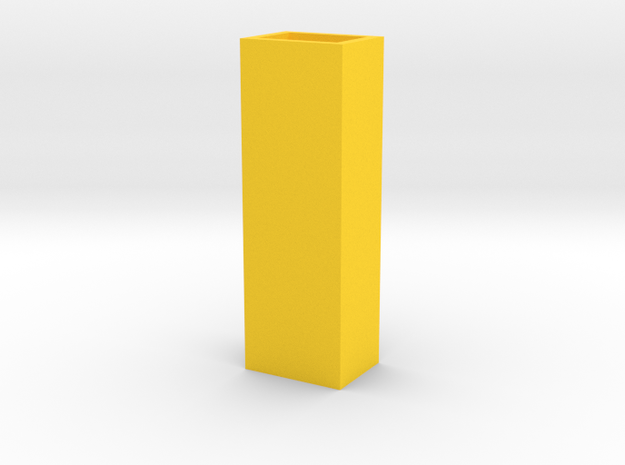 Cityscape Vase Tall Skinny 1:12 scale 3d printed