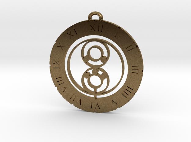 Luke - Pendant in Natural Bronze
