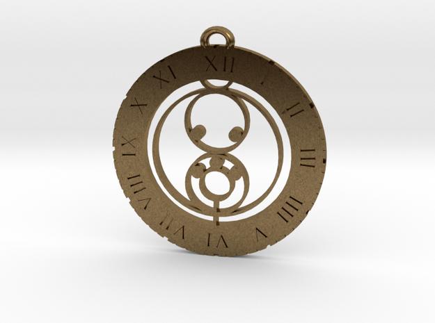 Luca - Pendant in Natural Bronze