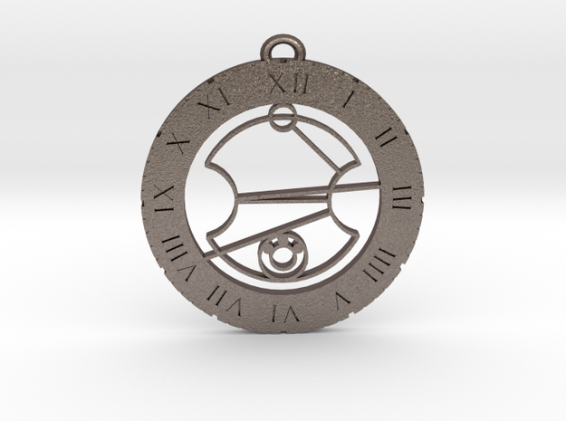 Lewis - Pendant in Stainless Steel