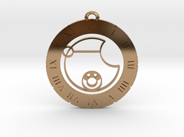 Levi - Pendant in Polished Brass