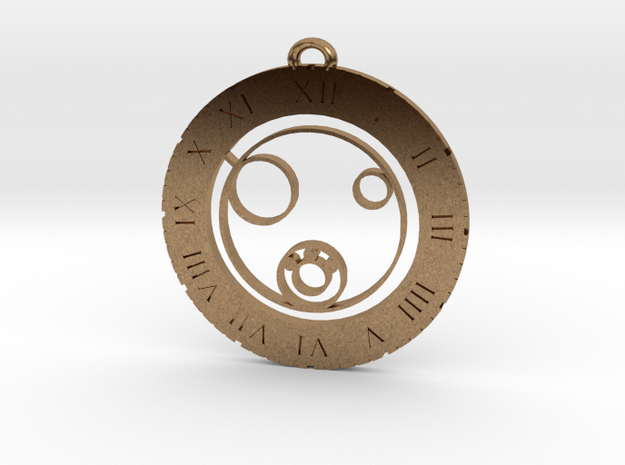 Leon - Pendant in Natural Brass