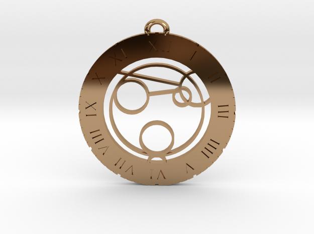 Jaxon - Pendant in Polished Brass