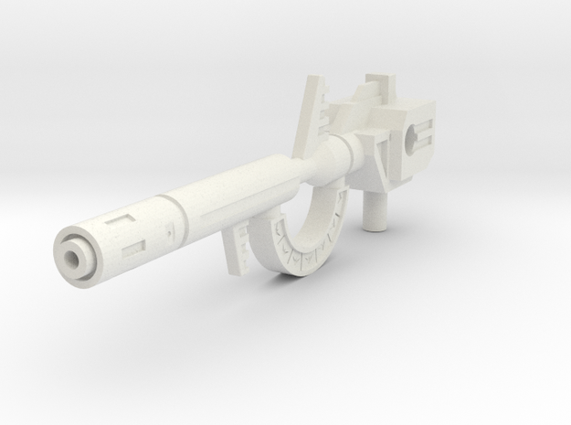 TW Roar G1 Gun M in White Natural Versatile Plastic