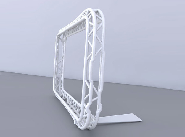 For iPhone Bumper 「truss」  Stand strap bar 3d printed