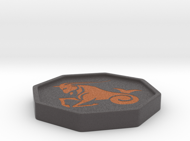 Capricorn horoscope in Full Color Sandstone