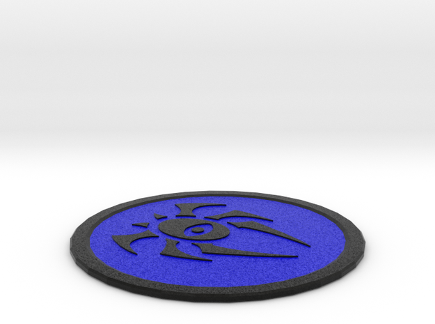 Dimir Coaster in Full Color Sandstone