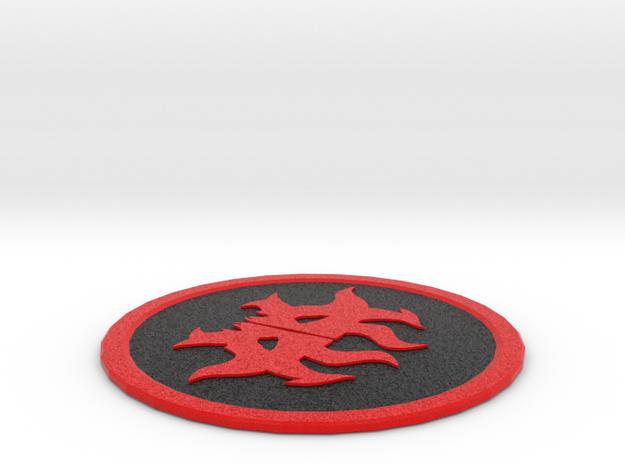 Rakdos Coaster in Full Color Sandstone