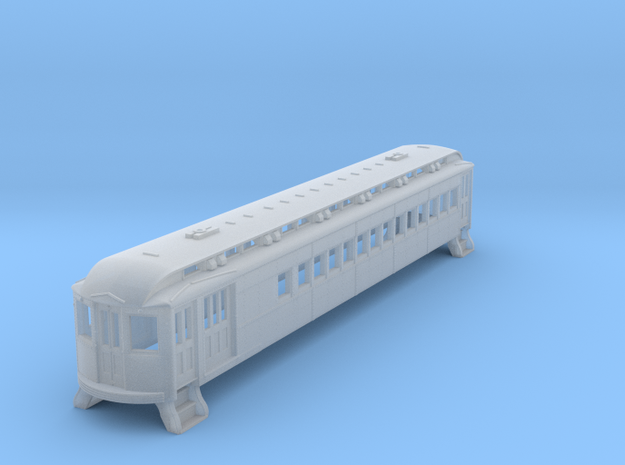 N Scale L&WV Combine Short BODY in Frosted Ultra Detail