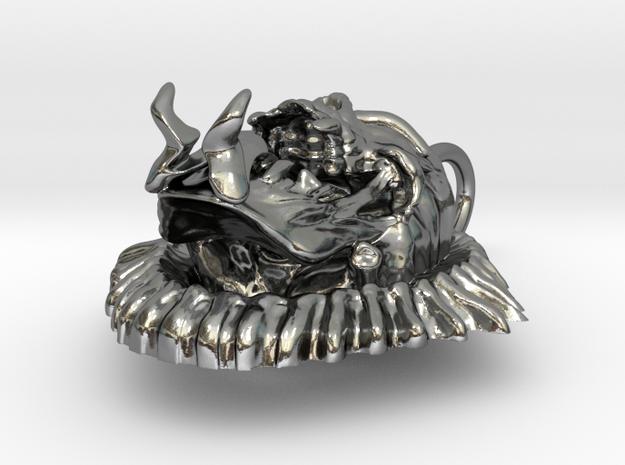 Evil Skull biker pendant