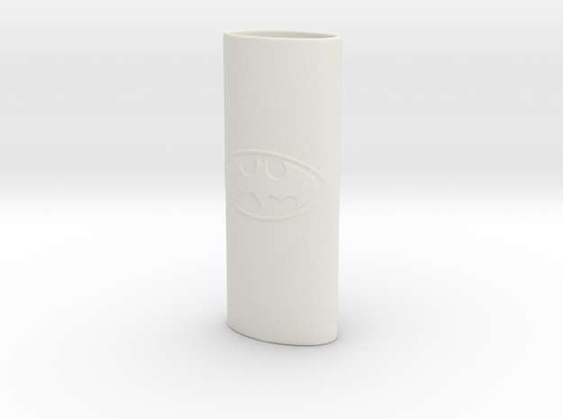 Batman - Bic Lighter Case in White Strong & Flexible