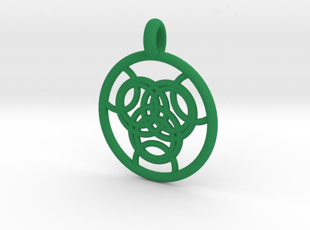 Praxidike pendant 3d printed