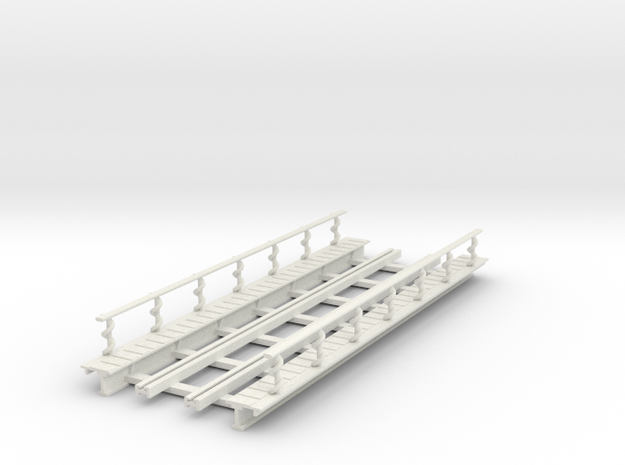 R-165-straight-2r-bridge-track-long-plus-walkway-s in White Natural Versatile Plastic
