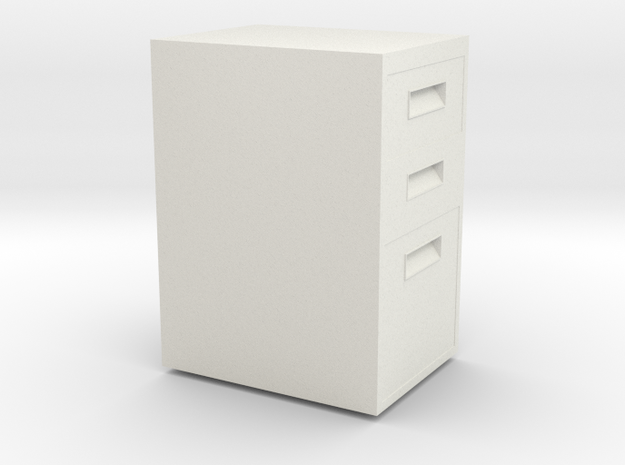 HTLA Filing Cabinet 10% in White Strong & Flexible