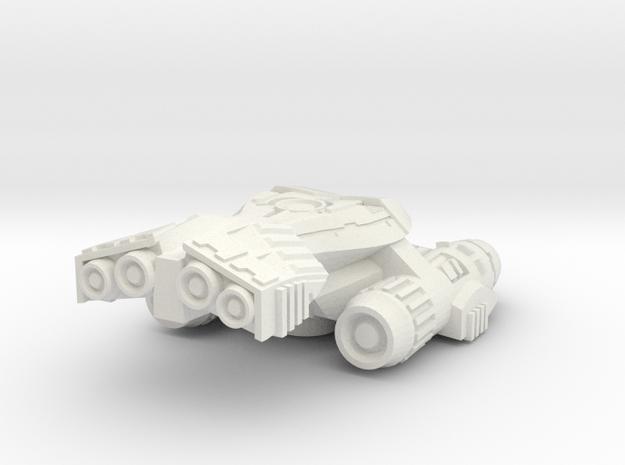 Prowler in White Natural Versatile Plastic