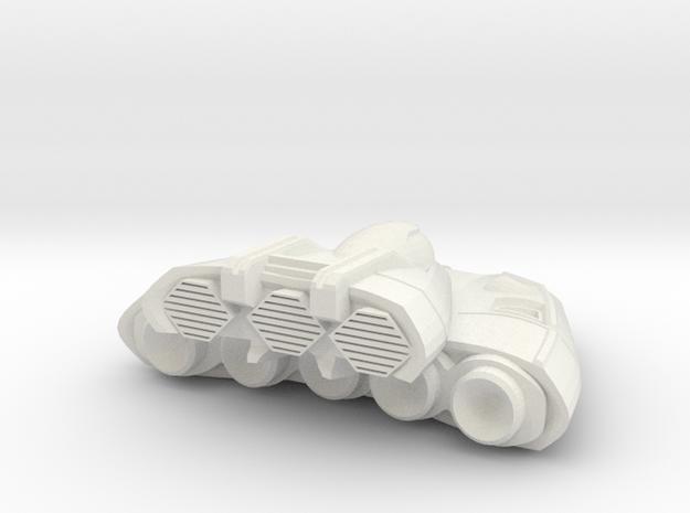Sinterra in White Natural Versatile Plastic