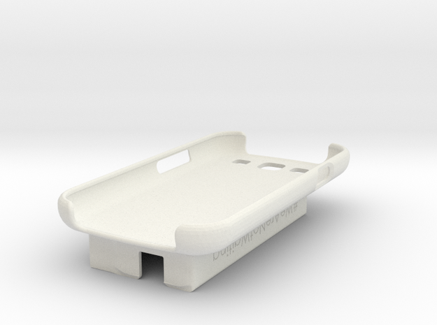 Galaxy S3 / Dexcom Case - NightScout or Share in White Natural Versatile Plastic
